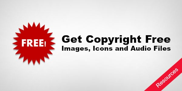 List of Websites to get Copyright Free Images, Icons and