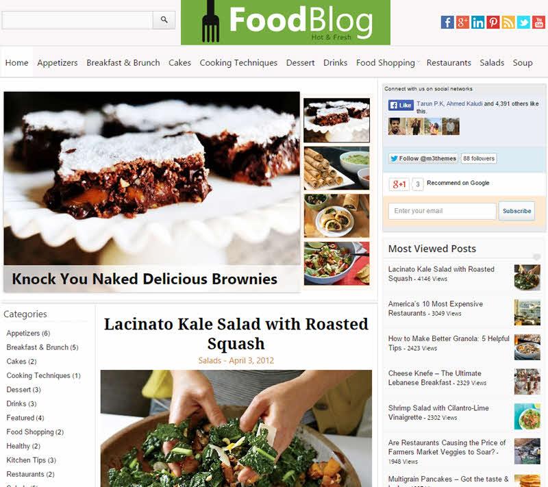 WPTheme_FoodBlog