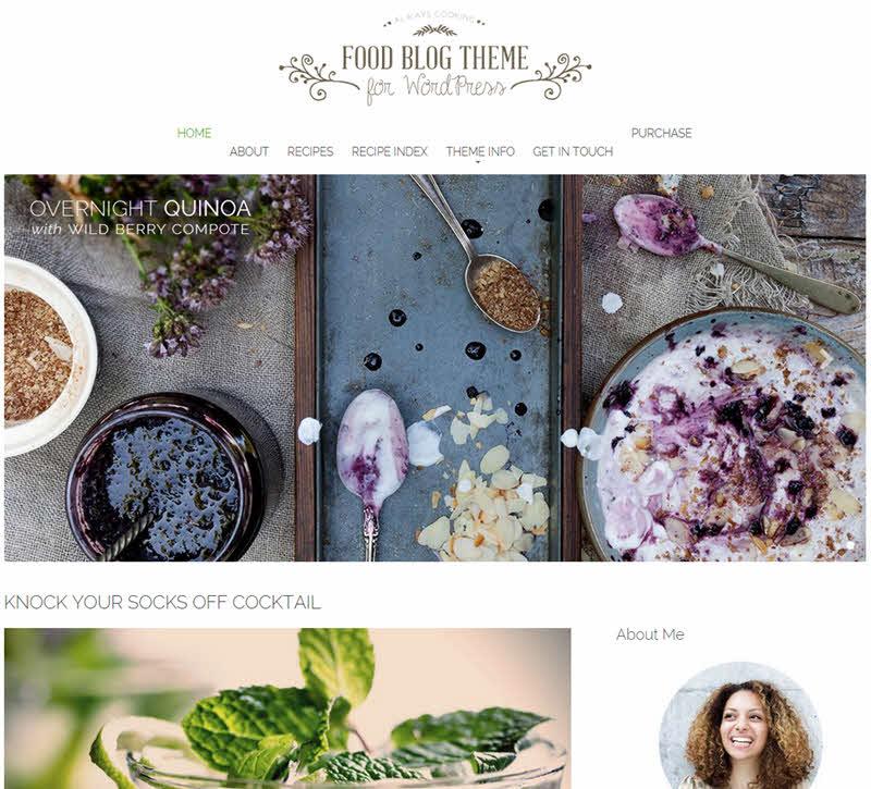 WPTheme_FoodBlogTheme