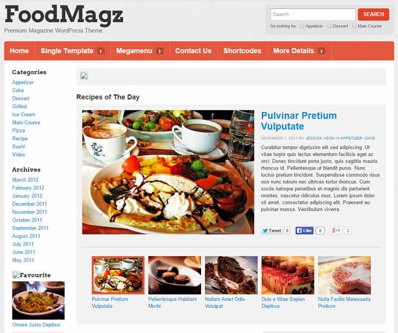 WPTheme_FoodMagz