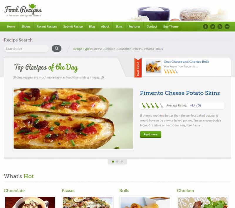 WPTheme_FoodRecipes