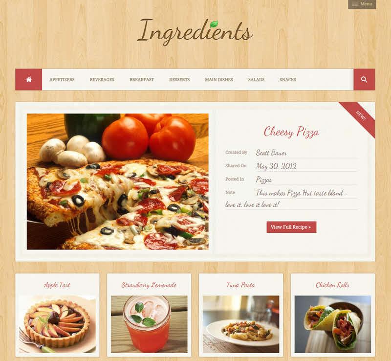 WPTheme_Ingredients