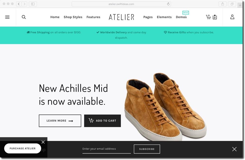 Ateliere_eCommerceWordPressThemes