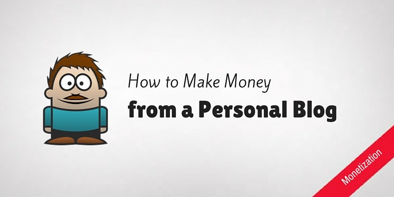 Make Money from Personal Blog
