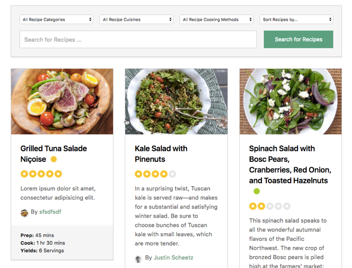 The best front end recipe post submission plugin for food blogs why is cooked plugin the best recipe submission plugin for food blog forumfinder Image collections